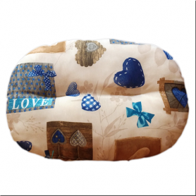 CUSCINO LOVE BLU